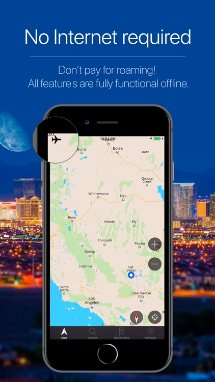 Nevada, USA Offline Navigation screenshot-0