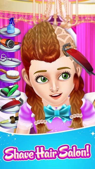 Hair Shave Salon Spa Games