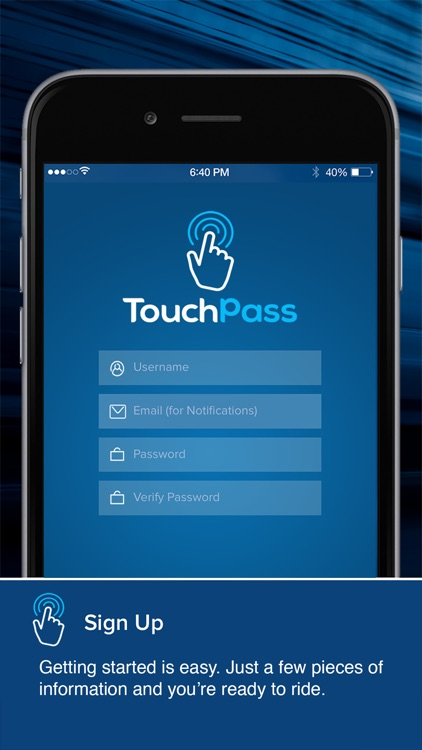 TouchPass Transit screenshot-1