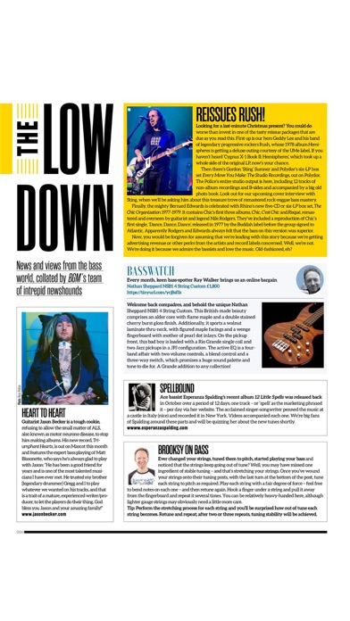 Bass Guitar Legacy Subscriber review screenshots