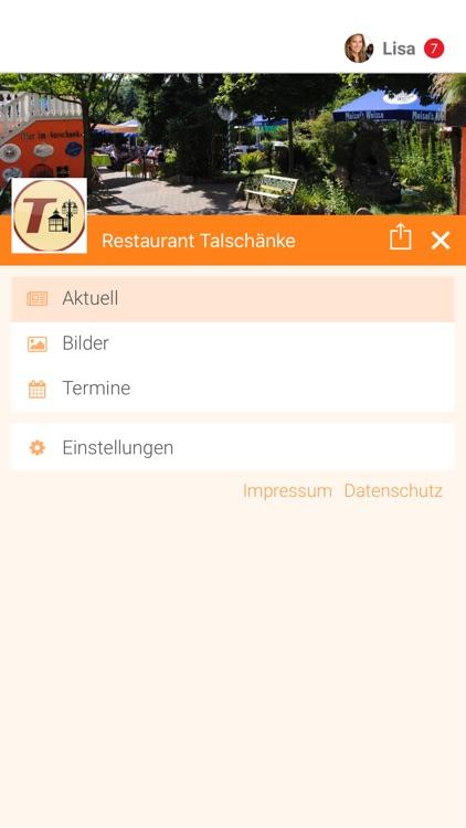 Restaurant Talschänke by Tobit.Software