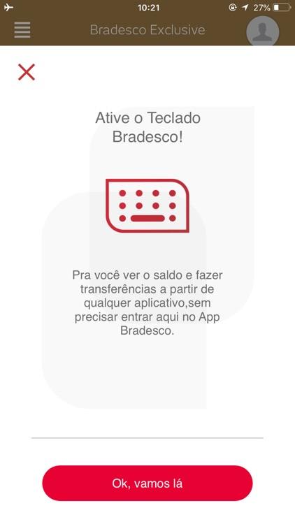 Bradesco Exclusive screenshot-3