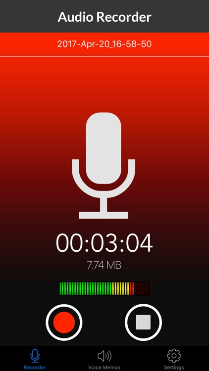Voice Recorder & Audio Memos screenshot-0