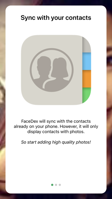 点击获取FaceDex