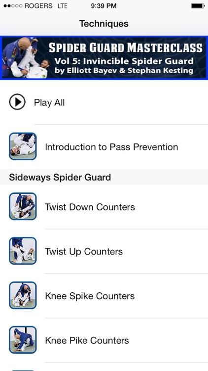BJJ Spider Guard Vol 5