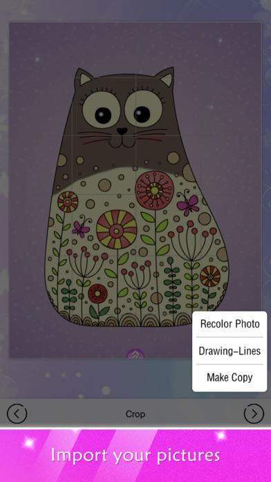 塗り絵ショー: 女のこのための塗り絵帳スクリーンショット5