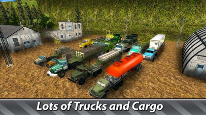 Cargo Trucks Offroad Driving screenshot 3