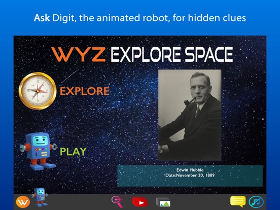 iPad Image of Wyz Explore Space