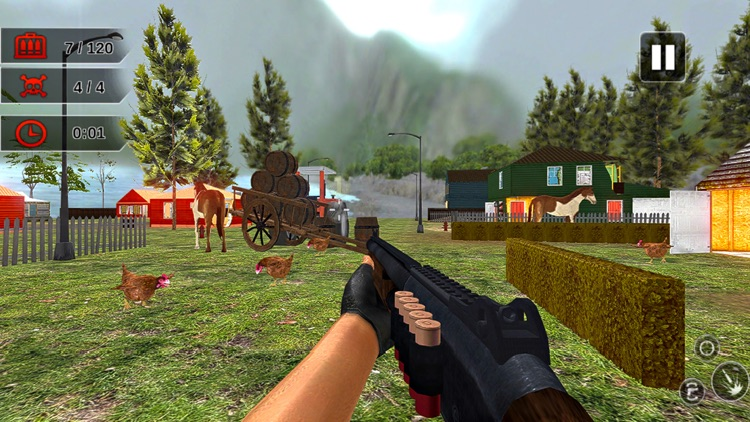 Chicken Hunt Sniper shooting screenshot-3