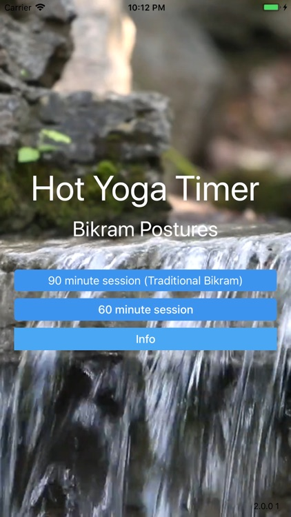 Hot Yoga Timer - Bikram screenshot-0