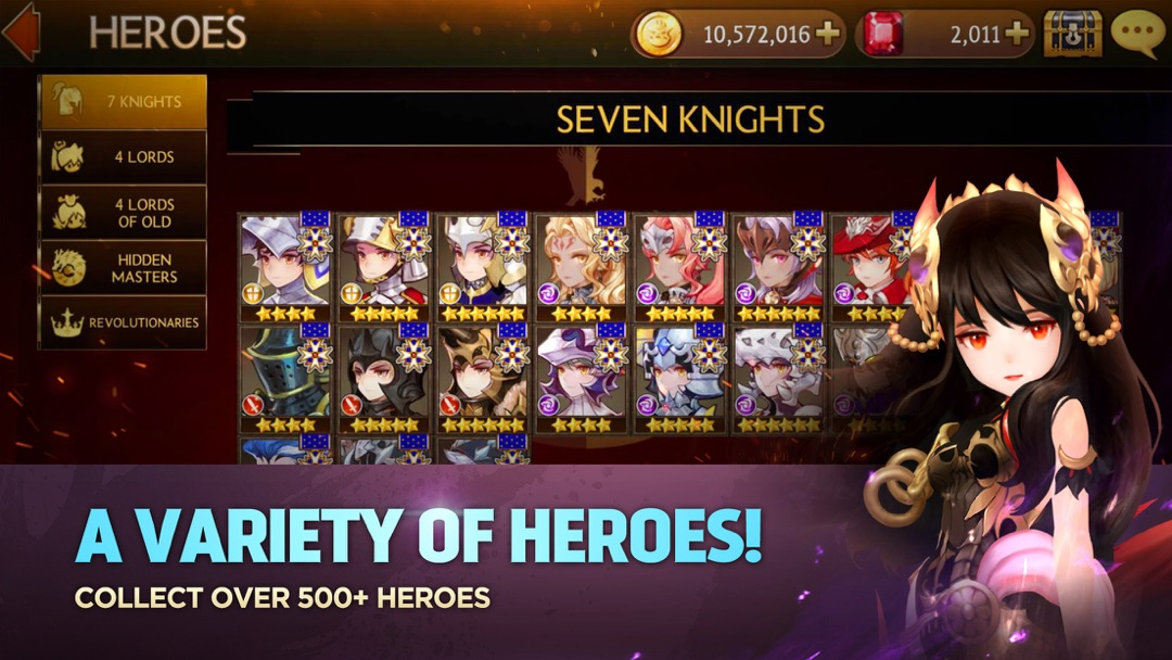 Seven Knights - Online Game Hack and Cheat | Gehack com