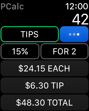 Screenshot #13 for PCalc - The Best Calculator