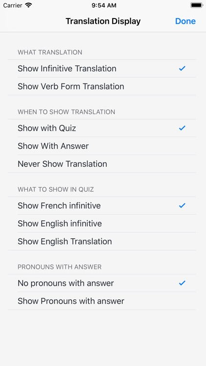 Verbes - French Verb Trainer screenshot-7