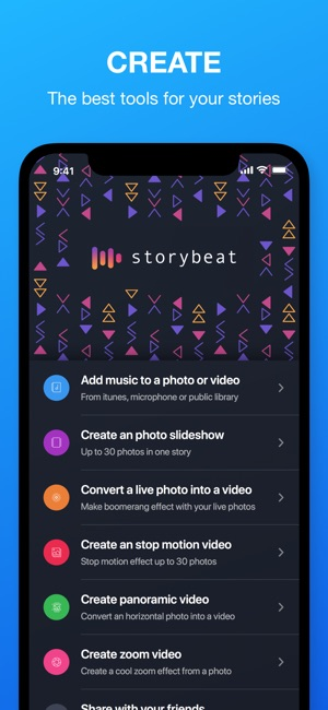 Storybeat on the App Store