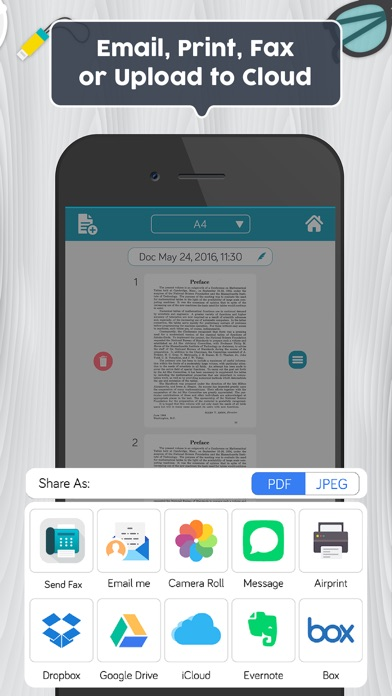 Easy Scanner PDF Document Scan Screenshot