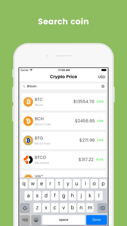 Crypto Price screenshot-3