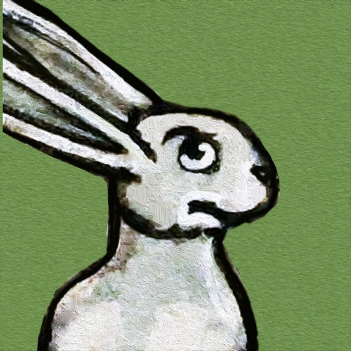 Medieval Rabbit Stickers