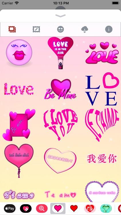 Pink Love • Emoji and stickers screenshot-4