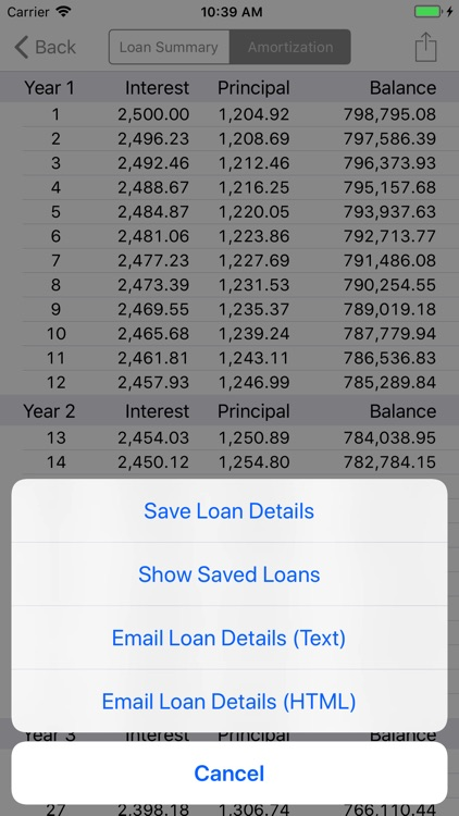RECalc Mortgage Calculator screenshot-3