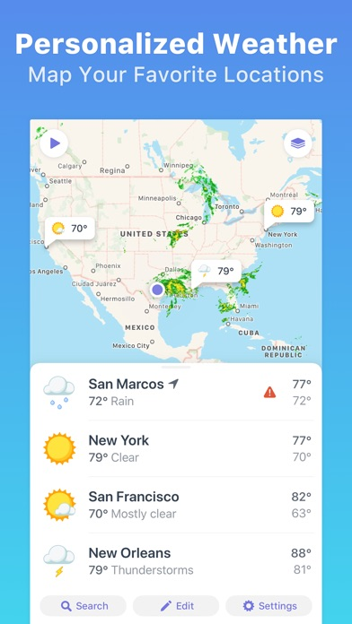 Weather Atlas: Weather Radar Map + 10 Day Forecast App Profile ...