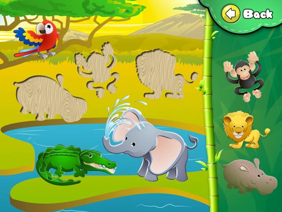 アニマルパズル -幼児向けドラッグアンドドロップパズルのおすすめ画像2