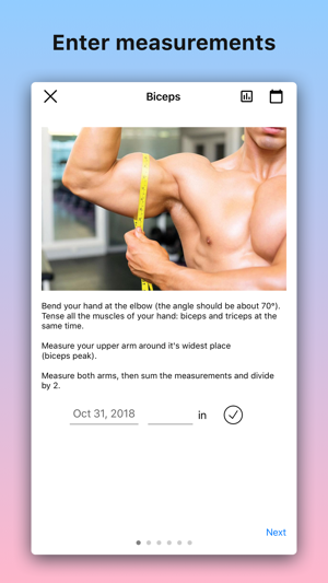 Body tracker: Photo & measure on the App Store