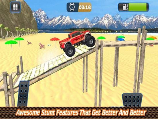 Grand Monster Truck Driving Sk screenshot 4