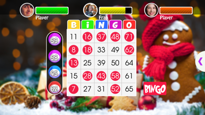 Christmas Bingo game screenshot three