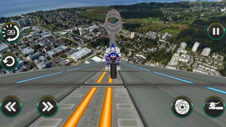 Crazy Bike On Impossible Track screenshot-3