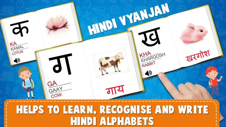 Learn Hindi Alphabets Tracing screenshot-4