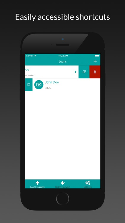 Keeper - Loan and debt tracking screenshot-3