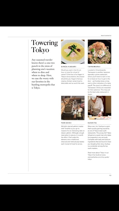 Voyage (Magazine) screenshot 5