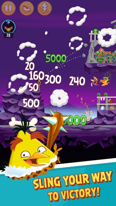 Angry Birds Classic ScreenShot1