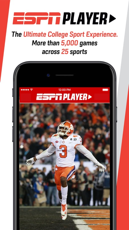 ESPN Player screenshot-1
