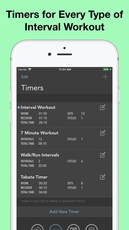 Intervals Pro - Workout Timer screenshot-5