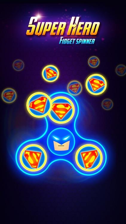 SuperHeroes Fidget Spinner screenshot-5