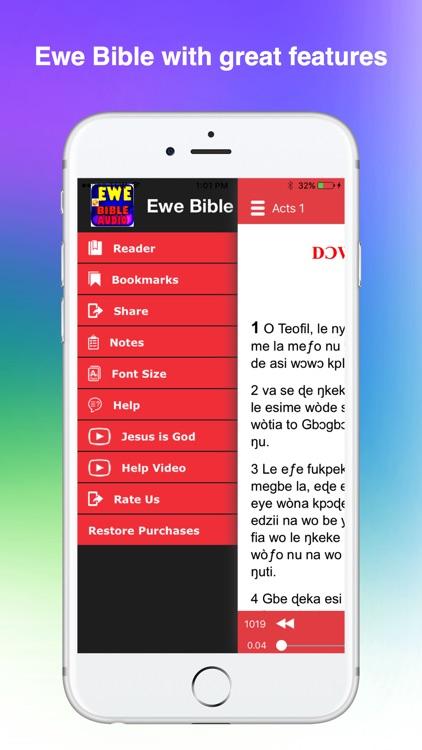Ewe Bible Audio