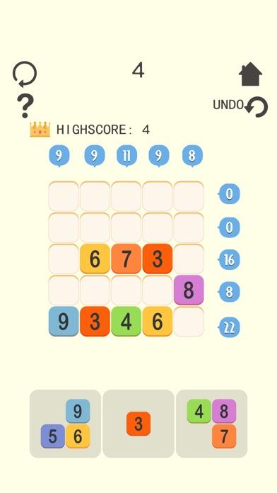Screenshot 1 Lucky 21 Blocks !-crush games