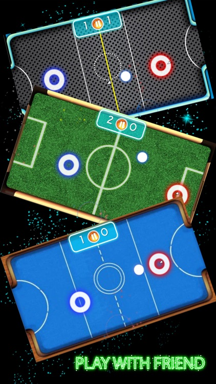 Glow Hockey Hd 2 Player By Somchai Bunpanyaa