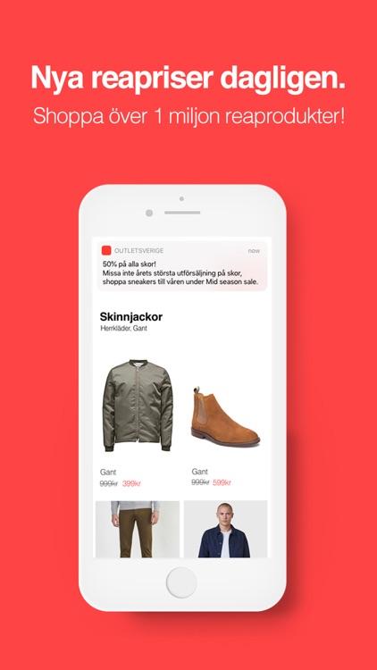 Outletsverige app screenshot-3