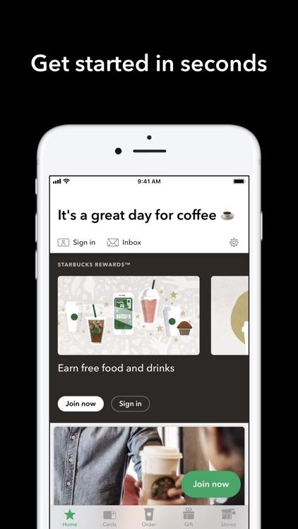 Starbucks screenshot-7