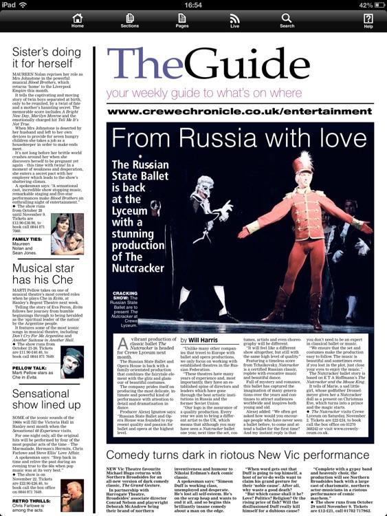 Crewe Chronicle newspaper