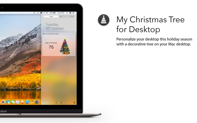 my christmas tree for desktop をmac app storeで