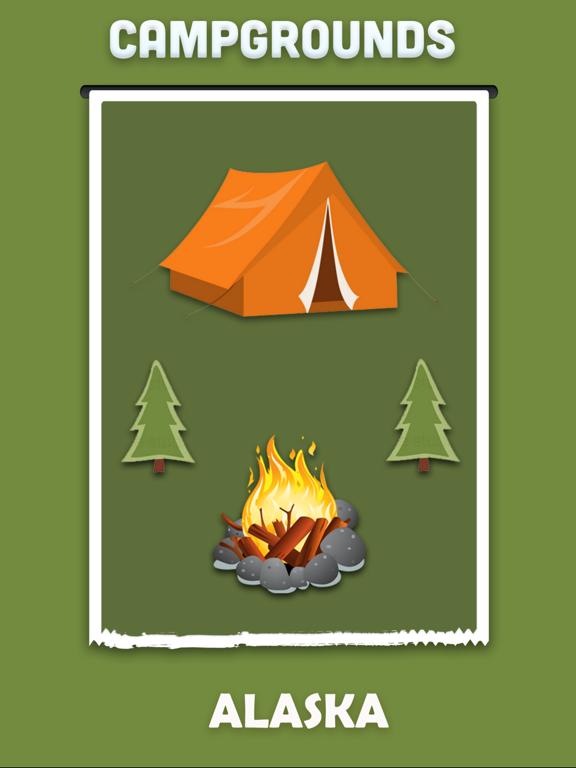 Alaska Campgrounds Offline-ipad-0