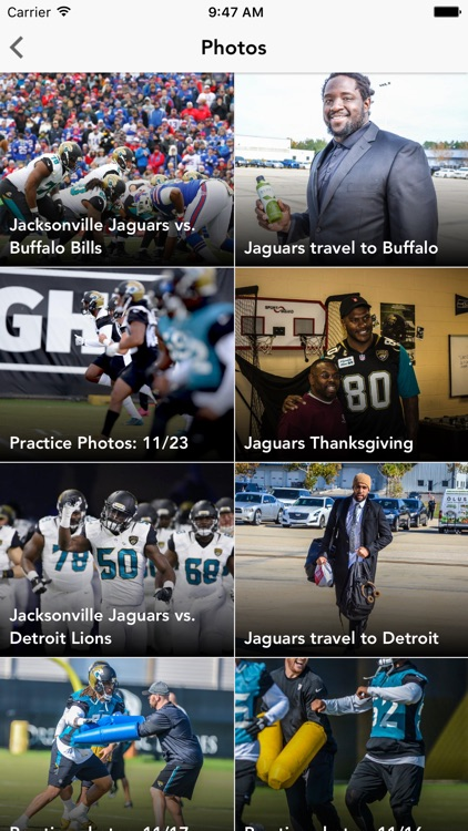 Old Jacksonville Jaguars screenshot-4