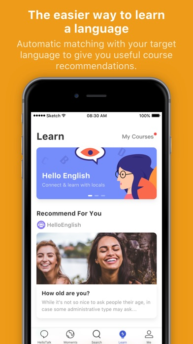 Hellotalk Learn Language Fast review screenshots