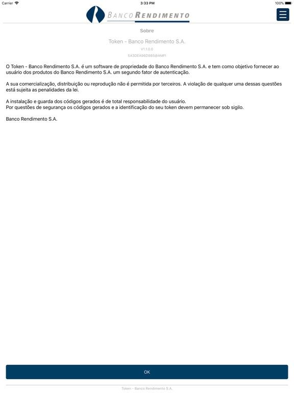 iPad Image of Token Rendimento