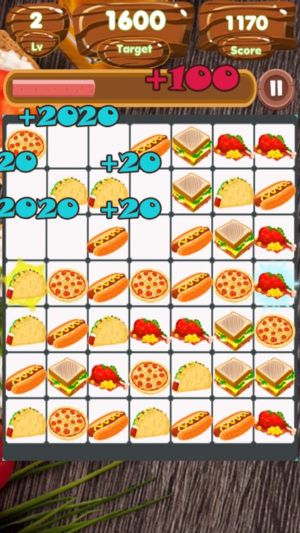 Food Match Land screenshot-7