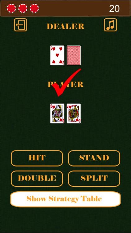 Blackjack Basic Strategy Practice screenshot-3