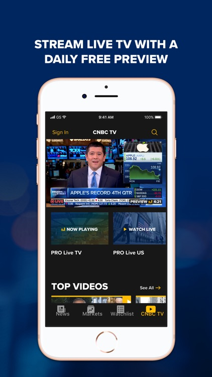 CNBC: Breaking Business News screenshot-3